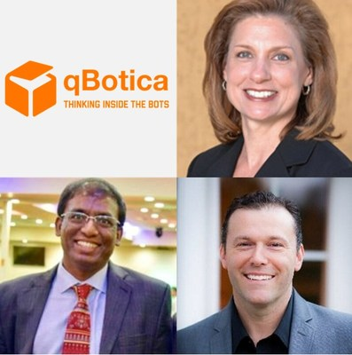 qBotica - Rising Star in Robotics Automation and AI - Names Fortune 500 Execs to its Board and Inks Partnership with Blue Prism